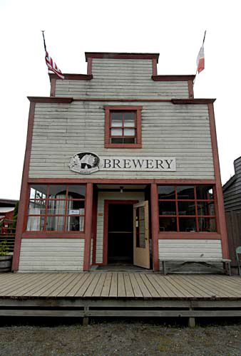 The Haines Brewing Company Brewery in Haines Alaska